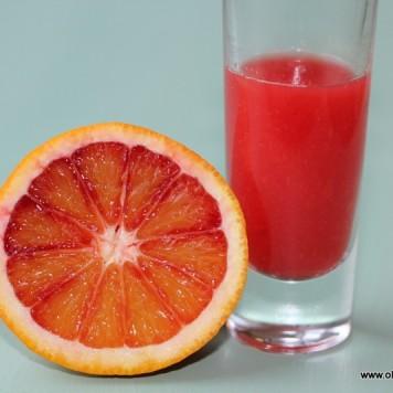 Blood Orange Juice for my dessing