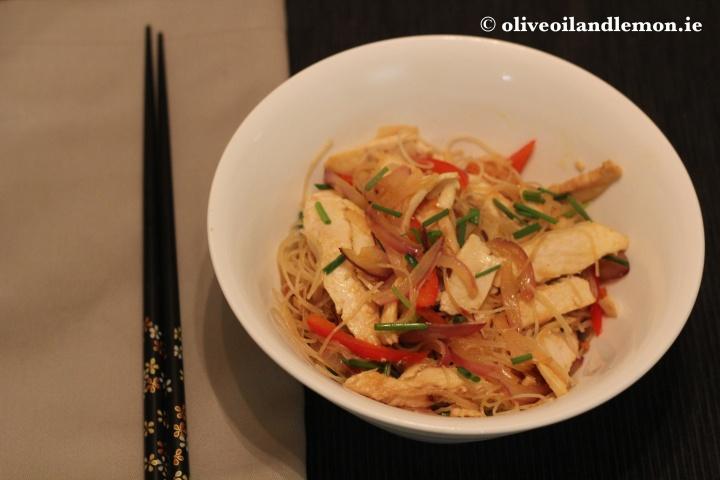 Stir Fry Veg with Vermicelli Noodles