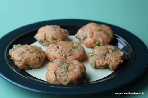 Salmon Fish Cakes - Skinny Style