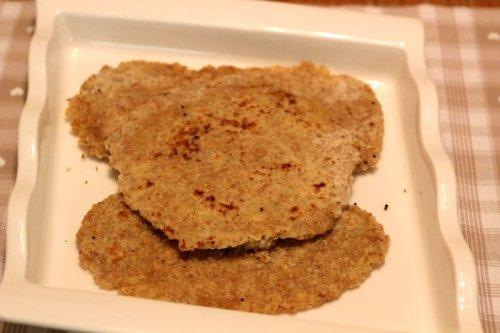 Cooked Quinoa Parathas