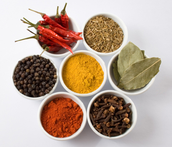 selection of spices