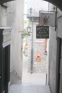 Medieval archway & Signs