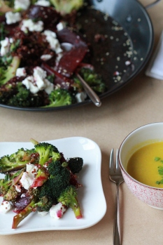Beetroot Broccoli Salad II