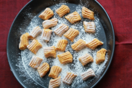 Tray of Gnocchi