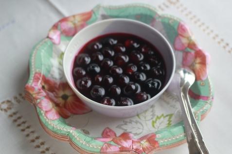 Glazed Blueberries