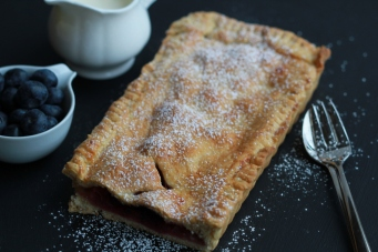 Apple & Blueberry Tart II