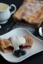 Apple Blueberry tart III