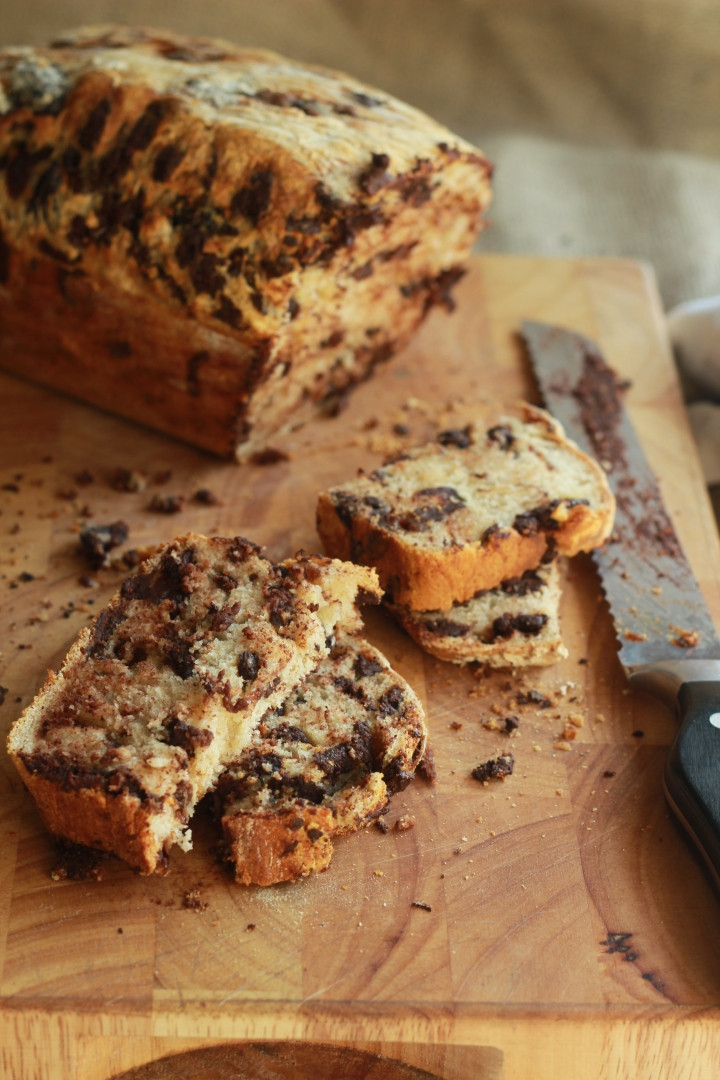 Prune and Chocolate Bread