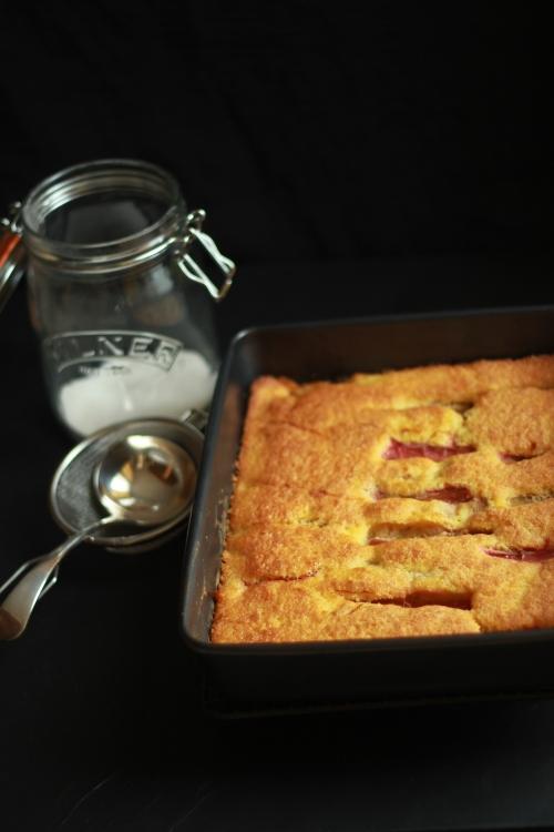 Rhubary Bake