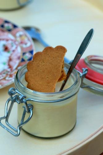 Lemon Tofu Cream Ginger