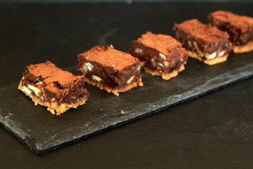 Chocolate Chestnut Bites
