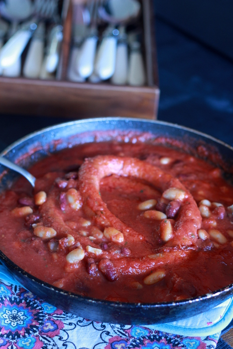 OO&L Beans Sausage Casserole