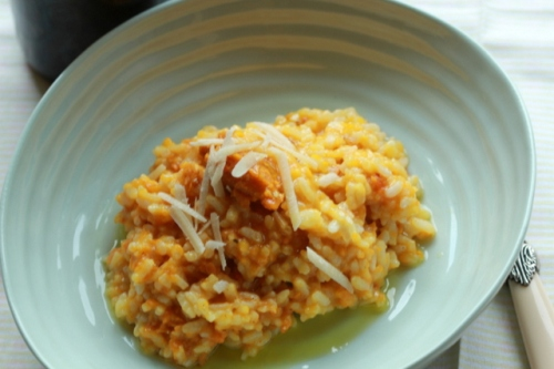 Oven Baked Risotto with Root veg