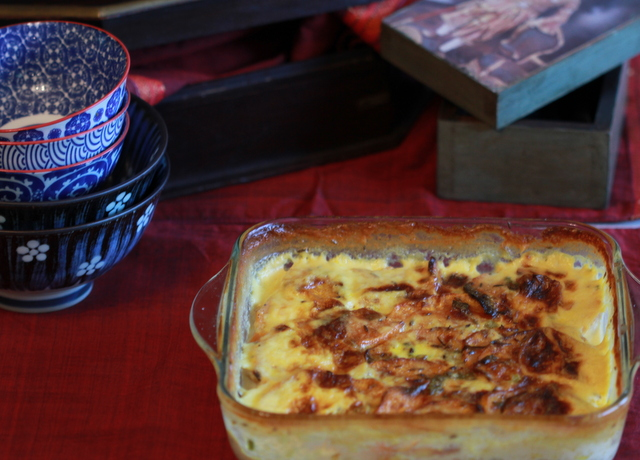 Cuimin Spiced Potato Gratin