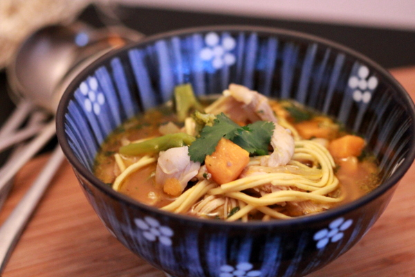 OO&L Spicy Chicken Noodle Soup