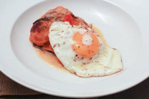 squash & tomato gratin IV