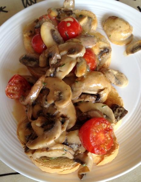 OO&L Creamy Mushrooms
