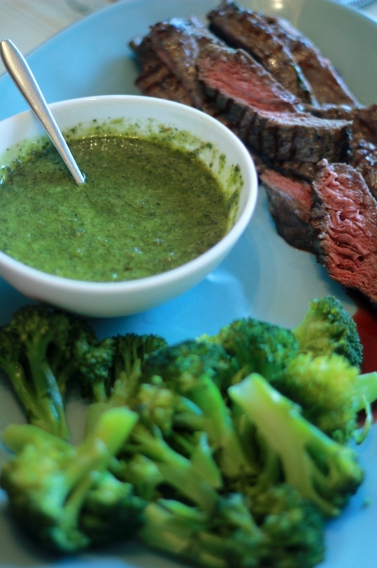 Bavette with Chimichurri