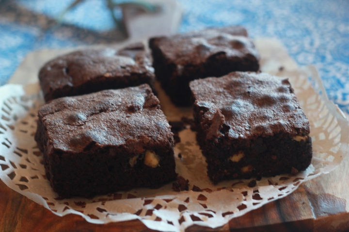 Brownies with White Chocolate