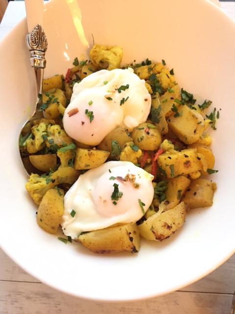 aloo bombay eggs